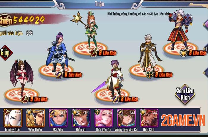 Game Tam Anh Chiến Mobile thu hút hàng loạt tay chơi đại gia 4
