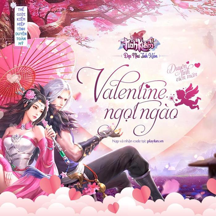 Game thủ Tình Kiếm 3D rộn ràng trước ngày Valentine 3