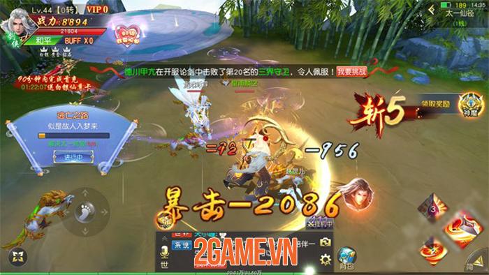 Game tiên hiệp tình duyên Tình Thiên Hạ Mobile cập bến Việt Nam 2