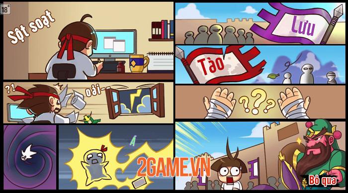 Chưa thấy game Tam Quốc nào lại hài hước và lầy lội như Anh Tào Bị Ca 0