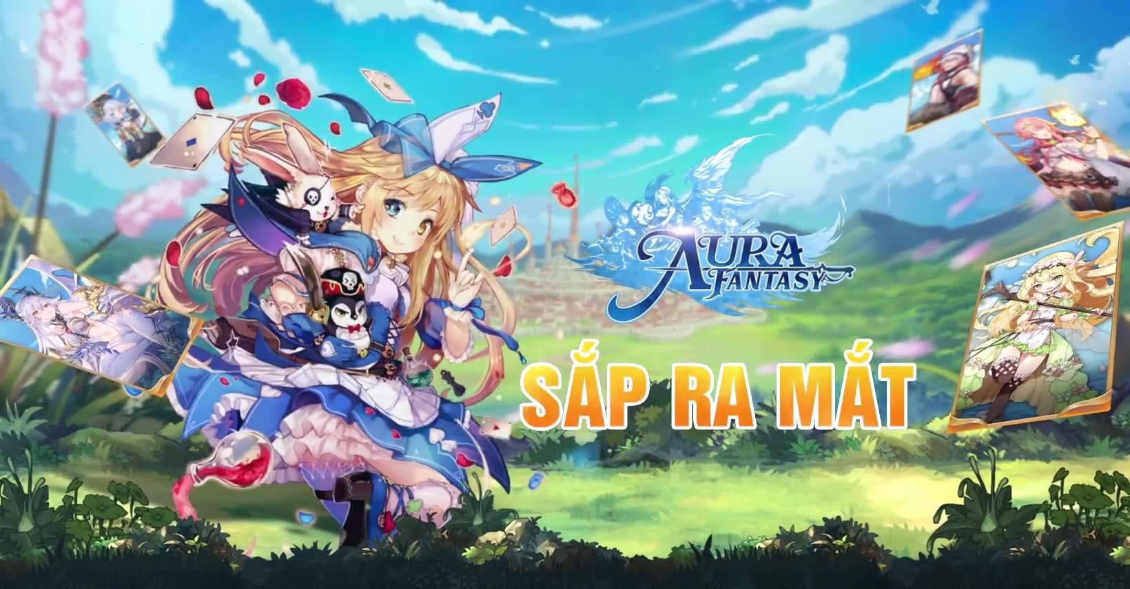 Game AFK Anime RPG số 1 châu Á AURA Fantasy ra mắt fanpage tiếng Việt 3