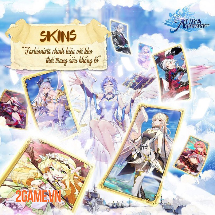Aura Fantasy VNG thông báo ngày phát hành chính thức 1