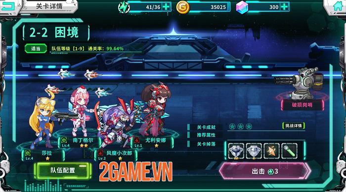 Battle Divas: Slay Mecha - Phiên bản toàn cầu của Heroes X Academy với nhiều đổi mới 0