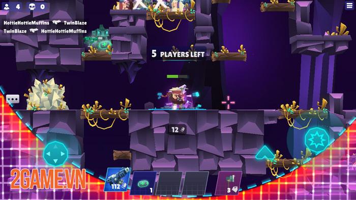 Bullet League - Game 2D Battle Royale tiết tấu nhanh với cơ chế chơi cực chất 0