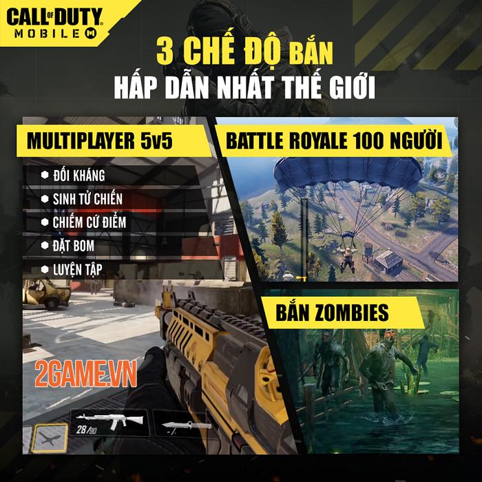Call of Duty thu hút game thủ bởi những chế độ bắn hấp dẫn nhất 0