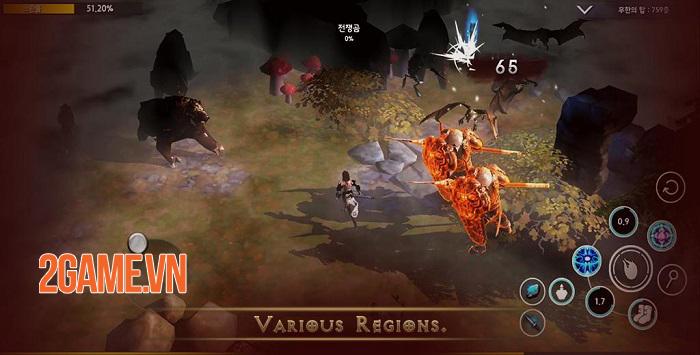 Dungeon and Evil - Game ARPG 3D có phong cách hơi hướng Diablo 4