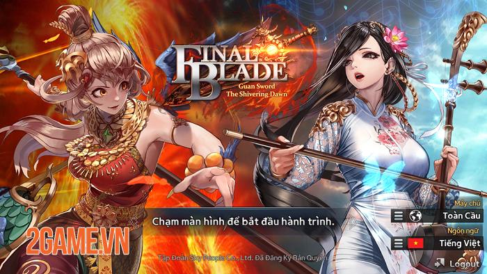 Game đấu thẻ tướng Final Blade được VTC Game phát hành tại Việt Nam 1