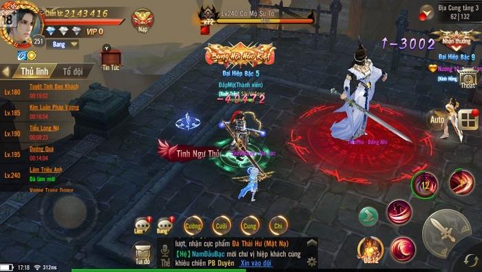 Giang Hồ Chi Mộng cho phép game thủ giao dịch tự do đồ không khóa 1