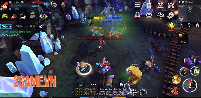 HeartsWar sở hữu lối chơi nhập vai thế giới mở đầy phóng khoáng và cuốn hút 4