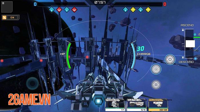 Iron Space - Cuộc chiến phi thuyền thời gian thực với 2 chế độ thử nghiệm hấp dẫn 0