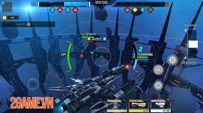 Iron Space - Cuộc chiến phi thuyền thời gian thực với 2 chế độ thử nghiệm hấp dẫn 1