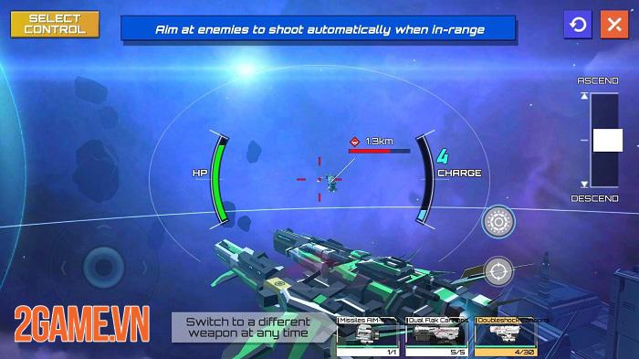 Iron Space - Cuộc chiến phi thuyền thời gian thực với 2 chế độ thử nghiệm hấp dẫn 2