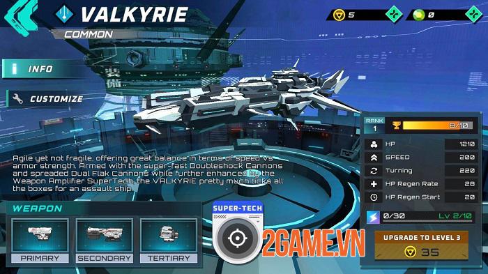 Iron Space - Cuộc chiến phi thuyền thời gian thực với 2 chế độ thử nghiệm hấp dẫn 3
