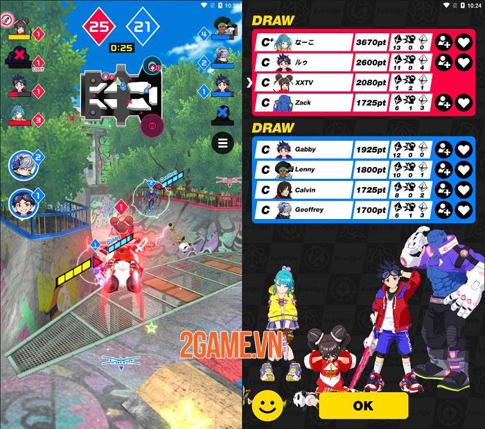 Kick Flight sở hữu lối chơi hành động mới mẻ trên nền đồ họa anime tuyệt đẹp 2