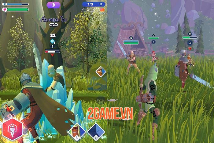Knighthood - Game hành động nhập vai kinh điển từ cha đẻ Candy Crush 1