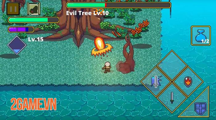 Labyrinth Legend - Game offline đồ họa pixel 2D với lối chơi hack'n'slash thú vị 2