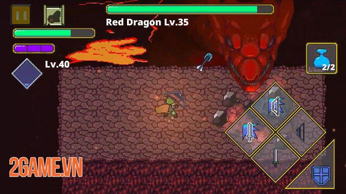 Labyrinth Legend - Game offline đồ họa pixel 2D với lối chơi hack'n'slash thú vị 3