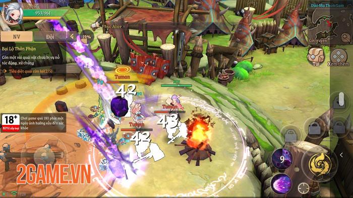 Light of Thel: Thời Hoàng Kim tái hiện những tinh hoa của thể loại MMORPG 2