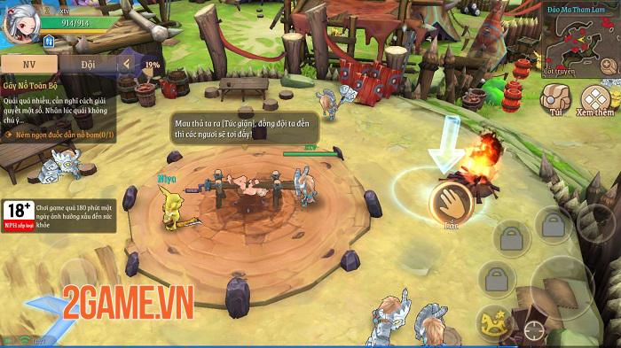 Light of Thel: Thời Hoàng Kim tái hiện những tinh hoa của thể loại MMORPG 1