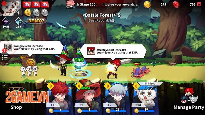 Game idle dựa trên bộ webcomic nổi tiếng Lucid Adventure ra mắt toàn cầu 0