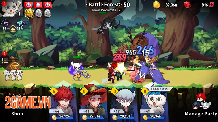 Game idle dựa trên bộ webcomic nổi tiếng Lucid Adventure ra mắt toàn cầu 2