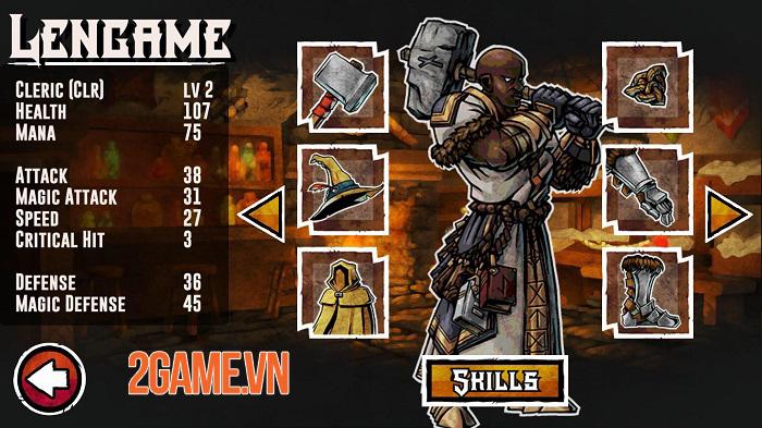 Merchant Heroes - Game nhập vai chiến thuật lấy cảm hứng từ Darkest Dungeon 0