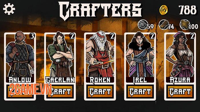 Merchant Heroes - Game nhập vai chiến thuật lấy cảm hứng từ Darkest Dungeon 3