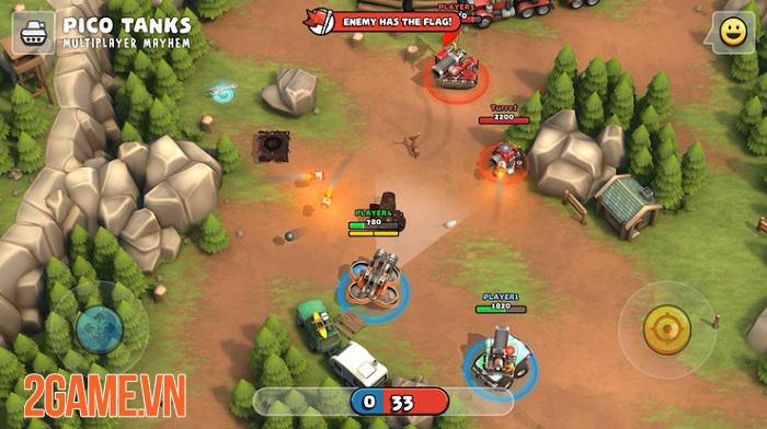 Pico Tanks - Game bắn tank phong cách MOBA chính thức phát hành toàn cầu 0