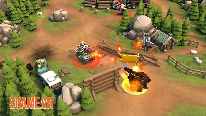Pico Tanks - Game bắn tank phong cách MOBA chính thức phát hành toàn cầu 2