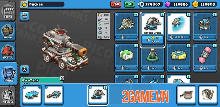 Pico Tanks - Game bắn tank phong cách MOBA chính thức phát hành toàn cầu 3
