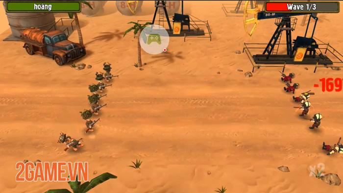 Pocket Troops - Game chiến thuật quy tụ nhiều yếu tố hài hước 1
