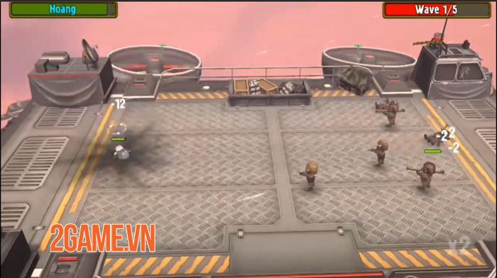 Pocket Troops - Game chiến thuật quy tụ nhiều yếu tố hài hước 2