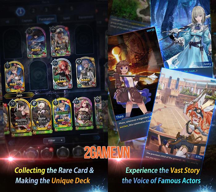 Shadow Seven - Game nhập vai chiến thuật bối cảnh anime bắt mắt 1