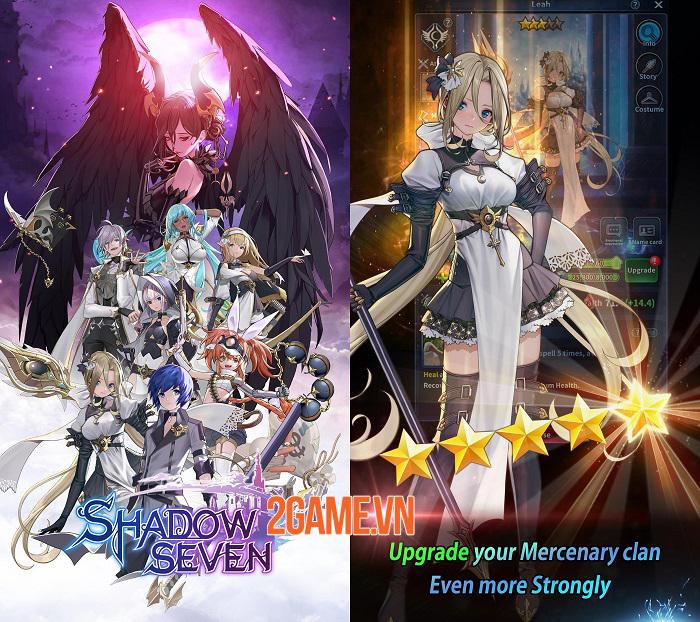 Shadow Seven - Game nhập vai chiến thuật bối cảnh anime bắt mắt 0