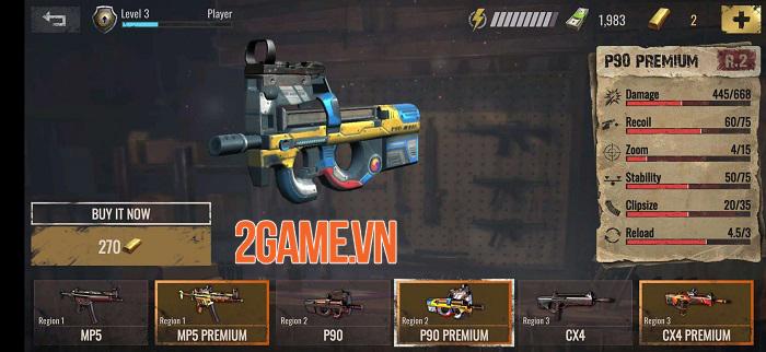 Sniper Zombies VNG sở hữu đồ họa chân thực với những hiệu ứng ấn tượng 0