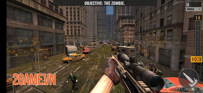 Sniper Zombies VNG sở hữu đồ họa chân thực với những hiệu ứng ấn tượng 1