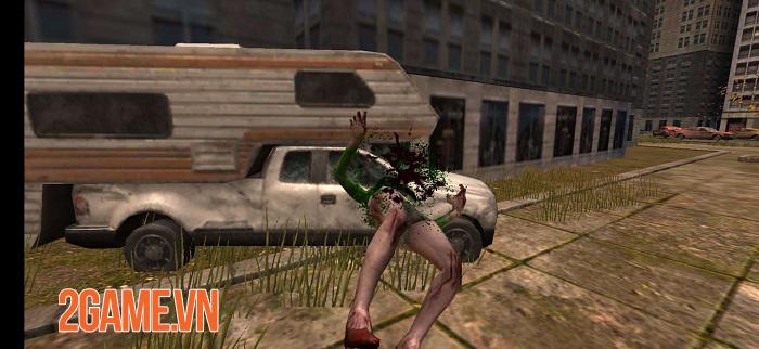 Sniper Zombies VNG sở hữu đồ họa chân thực với những hiệu ứng ấn tượng 3