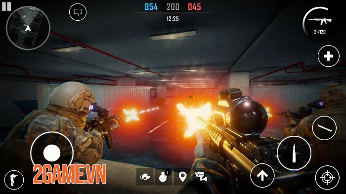 Strike Team Online - Game mobile bắn súng sở hữu đồ hoạ ấn tượng như CSGO 3