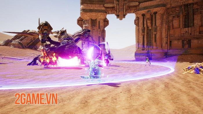 TERA Hero sẽ áp dụng hình thức chiến đấu nhập vai theo tổ đội 1