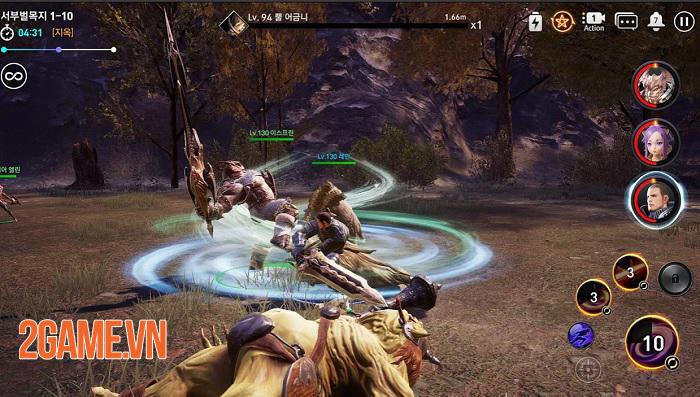 TERA Hero sẽ áp dụng hình thức chiến đấu nhập vai theo tổ đội 2