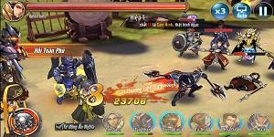 Game thẻ tướng phá cách Tam Anh Chiến Mobile tấp nập người chơi ngày ra mắt