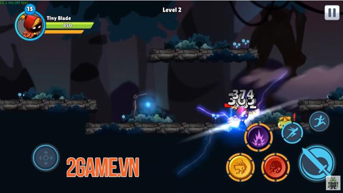 Tiny Blade: Dark Slayer - Game nhập vai có đồ họa 2D truyền thống 0