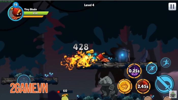 Tiny Blade: Dark Slayer - Game nhập vai có đồ họa 2D truyền thống 3
