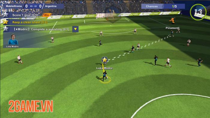 Ultimate Football Club - Game bóng đá và quản lý đội bóng với cơ chế đơn giản 4
