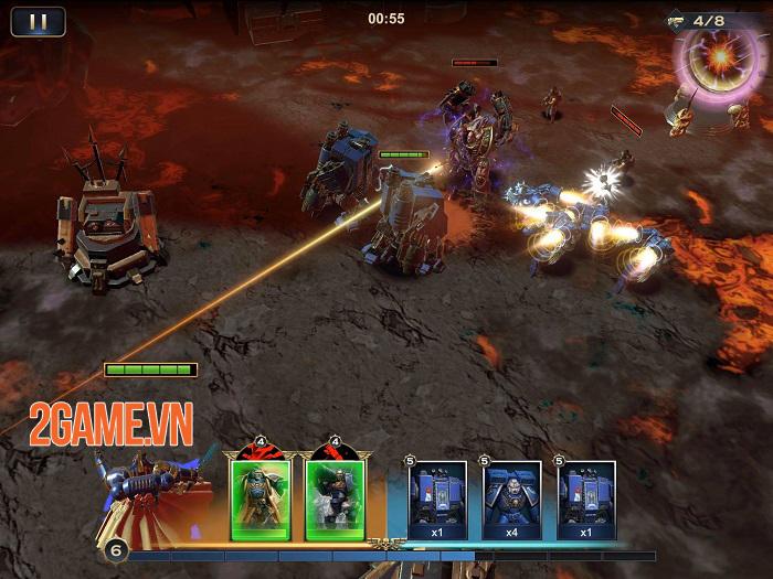 Warhammer 40.000: Lost Crusader - Một thế giới ma thuật kết hợp công nghệ độc đáo 1