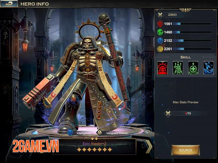 Warhammer 40.000: Lost Crusader - Một thế giới ma thuật kết hợp công nghệ độc đáo 2