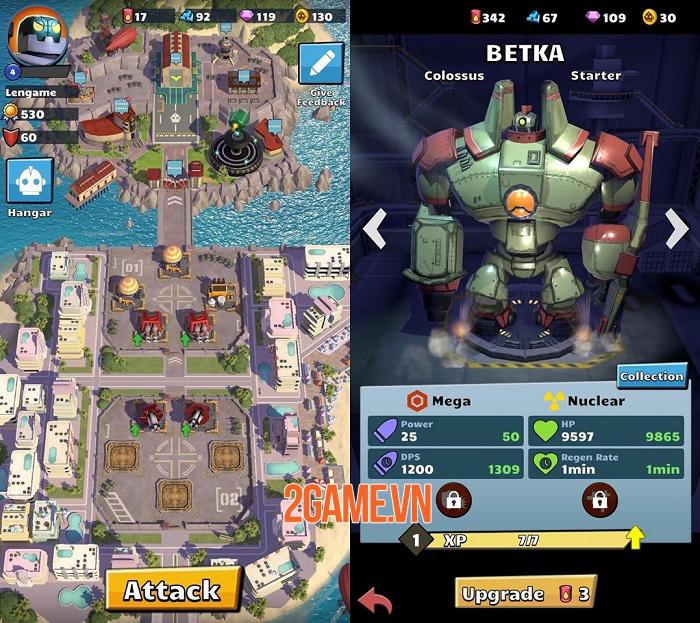 World War Bots - Game hành động điều khiển robot khổng lồ chiến đấu 1