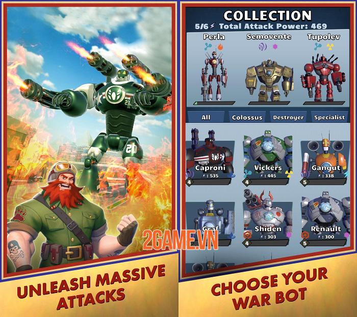 World War Bots - Game hành động điều khiển robot khổng lồ chiến đấu 2