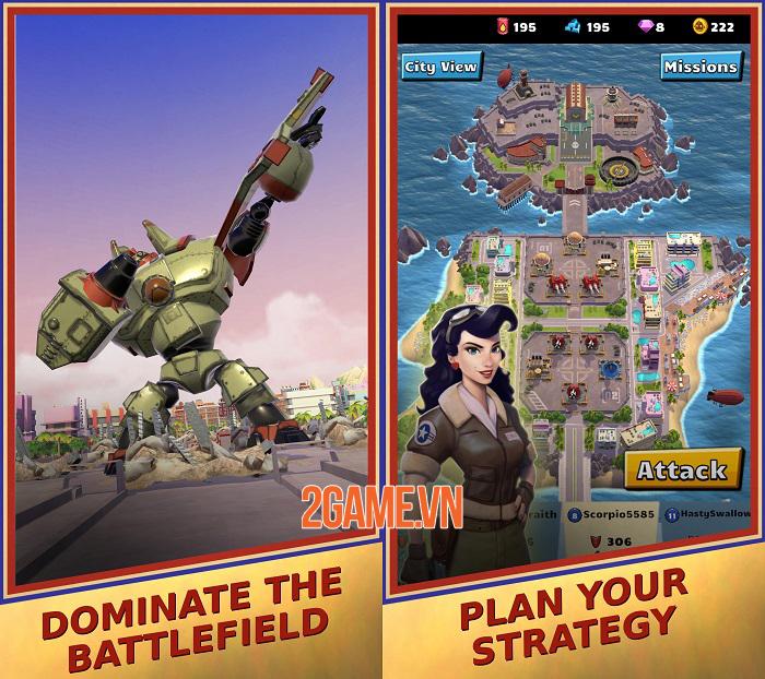 World War Bots - Game hành động điều khiển robot khổng lồ chiến đấu 3