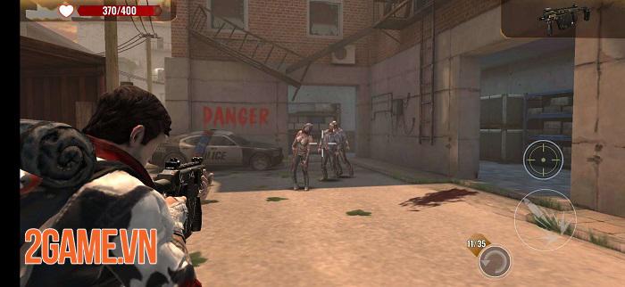 Zombie Survival VNG có lối chơi đơn giản và đồ họa chân thực 1